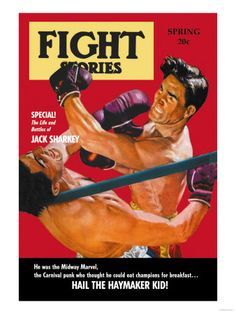 Vintage Boxing Posters and Prints