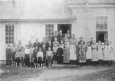 Brooksville School  Rural school in Brooksville, about 1898. From Images of America:  Brooksville (h171).