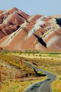Mountains of Zanjan, Iran by Taha Tebyani