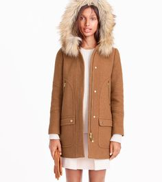 COATS WE WANT: Furry hoods, bright colors and other reasons to get excited for winter.