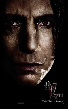 snape, my favorite actor- and possibly my favorite character