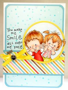 A thousand sheets of paper: You make me smile...Funny Faces, Roberto's Rascals by CC Designs