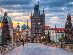 Take a stroll across the Charles Bridge in Prague, a 600-year-old bridge that spans 1,673 feet. It's today's Daily Escape.