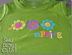 cameo silhouette tutorials cameo silhouett, ador spring, silhouett cameo, paint, tshirt idea, spring tshirt, t shirts, silhouette cameo, spring shirt
