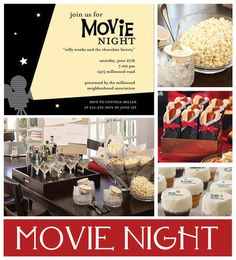 movie night theme #party #movie