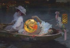 'Carnival Eve' (date not specified) by Ulpiano Checa y Sanz (1860-1916). Oil on canvas