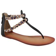 CInti sandali in ecopelle
