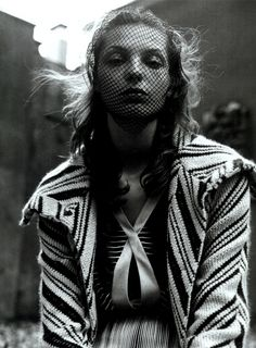 Daria Werbowy photographed by Steven Meisel for Vogue Italia July 2003