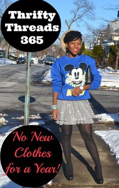 My Thrifty Threads challenge is back for 2014! #ThriftyThreads365