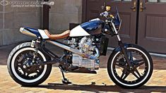 Originality is not dead in the world of custom rebuilds: Josh Mott Racing '79 CX500 - Motorcycle USA