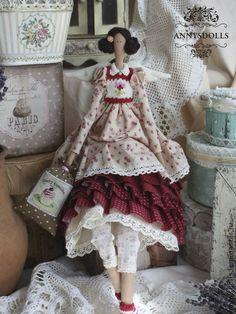 Куклы Тильды ручной работы. Ярмарка Мастеров - ручная работа Cherry. Handmade.