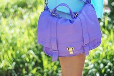 chanel handbags, fashion, shades of purple, coach bags, designer handbags, lavender bags, australia, michael kors purses, bright colors