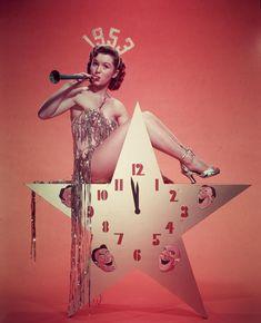 Debbie Reynolds 1953 New Year's Eve