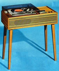 """Melogram"" Transistor Console with Record Player 