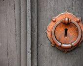 antiqu doorknob, lock