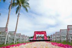 Hawaiian Indian Wedding by Jihan Abdalla Photography on IndianWeddingSite.com