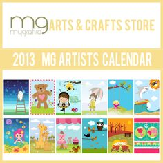 "Mygrafico 2013 free Artists Calendar is a way to say ""Thank You"" to all our customers and followers.   With this calendar, we wanted to share a piece of our vision , including 12 wonderful Designer graphics to enjoy during 2013"