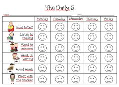 First Grade Dual: The Daily 5