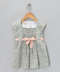 Another great find on #zulily! Floral Magnolia Pleated Top - Toddler by Cavelle Kids #zulilyfinds