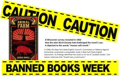 anim farm, ban book