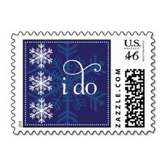 USPS Postage stamps for your winter #wedding