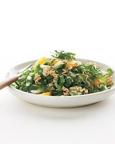 Citrus-Bok Choy Salad with Crisp Ramen - Martha Stewart Recipes