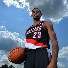 Allen Crabbe of the Portland Trail Blazers poses for a portrait during the 2013 NBA Rookie Photo Shoot on August 6, 2013 at the MSG Training Facility in Tarrytown, New York. (Photo by Jesse D. Garrabrant/NBAE via Getty Images)