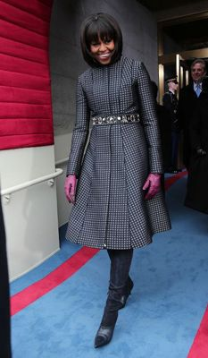 The First Lady of Style: Michelle Obama WOWS in (Jason) Wu Again for Inaugural Gown, and then some  http://www.focusonstyle.com/fashion/michelle-obama-wows-red-jason-wu-inaugural-gown/ #michelleobama #thombrowne