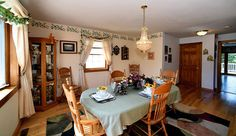 Dining room for our House of the Week.