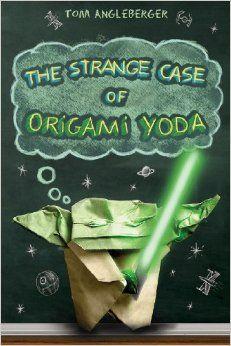 Strange Case of Origami Yoda - October 2013: http://www.pinterest.com/discoveryed/denbrarian-october-2013-strange-case-of-origami-yo/