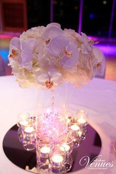 Stunning Orchid Centerpiece.