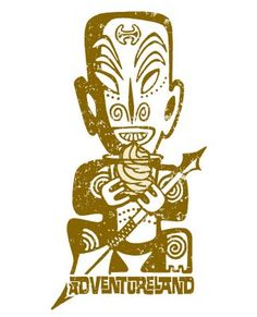New tiki dole whip design by DisneyDesignerland.blogspot.com