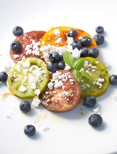 Blueberry and Tomato Salad Recipe   Leite's Culinaria