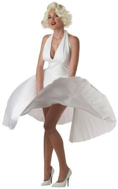 Women's Adult Deluxe Marilyn Monroe Costume