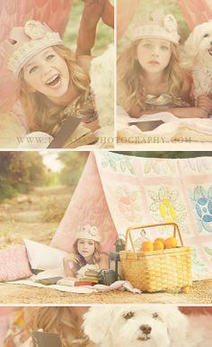 Love the props on this one! photo sessions, little girls, quilt, tent, vintage girls, children photography, little girl photography, photo shoots, kid