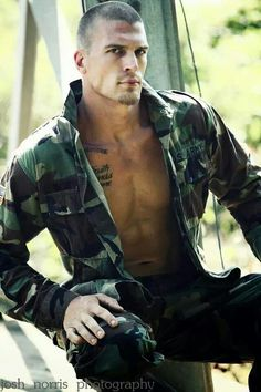 Sexy men in uniform