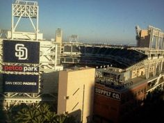 Guests love to enjoy the sweeping views of San Diego Bay, Petco Park and the downtown skyline. #sandiego #travel