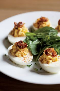 Deviled Eggs      http://gardenandgun.com//blog