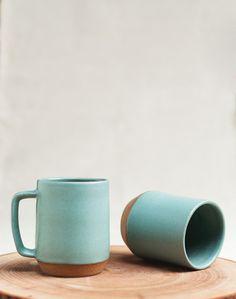 Mazama Fall 2013 tiffany blue, ceramic mugs