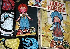 Holly Hobbie Colorforms-- I had these!