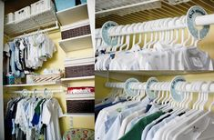 closet dream closets, clothes hangers, boys closet, kid closet, nursery organization, closet organization, nurseri, babies clothes, organized closets