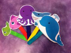 What Happens In Storytime...: Flannel Friday - The Slippery Fish