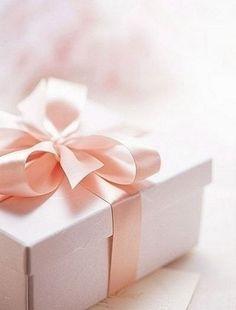 Pretty pink ribbon.