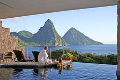 Room with a view, St. Lucia