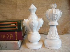 Very interesting! 6 in tall King & Queen Chess piece set $18.25