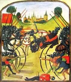 The Battle of Tewkesbury (May 4, 1471); victory for Edward IV over the supporters of Henry VI, whose only son and heir(Edward, Prince of Wales) was killed that day