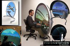 3D immersive display