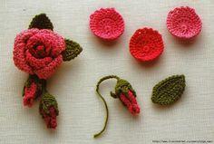 Crochet: CROCHET FLOWERS