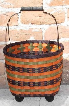 Fall Treats - $3.00 for pattern, $40 for kit, $65 for completed basket