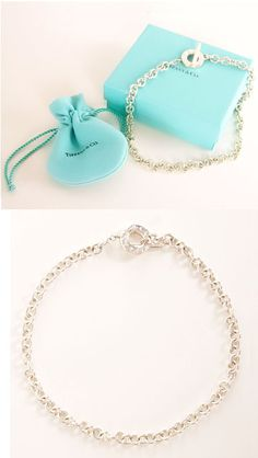 Tiffany Tag and Toggle Chain Necklace <3